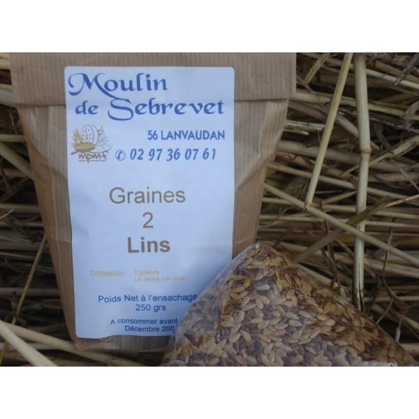 Graines 2 lins 250 g