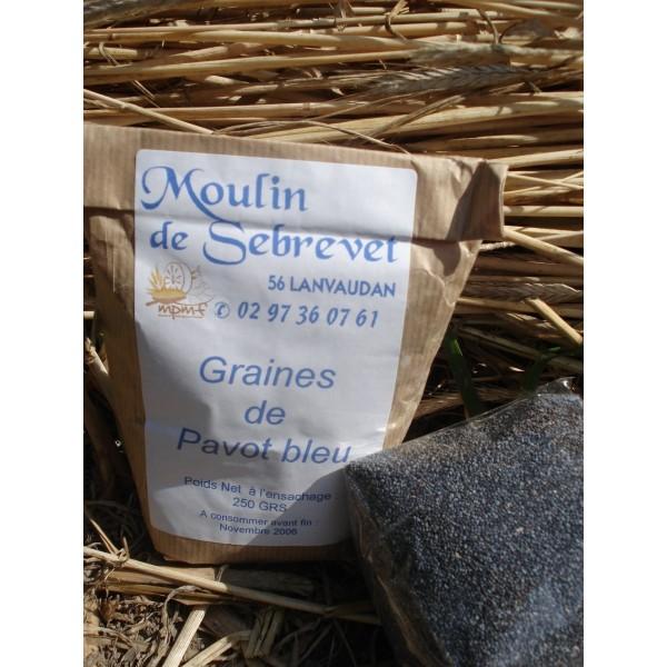 Graines de Pavot bleu 250 g