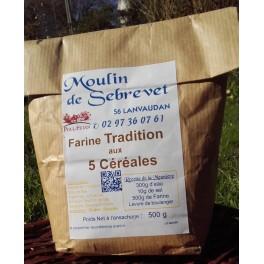 Farine de Tradition aux 5 céréales  5 kg