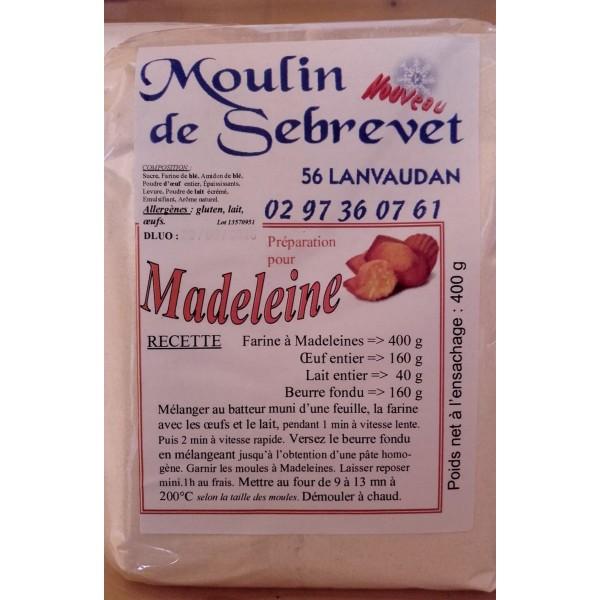 Préparation dessert - Madeleines 400 g